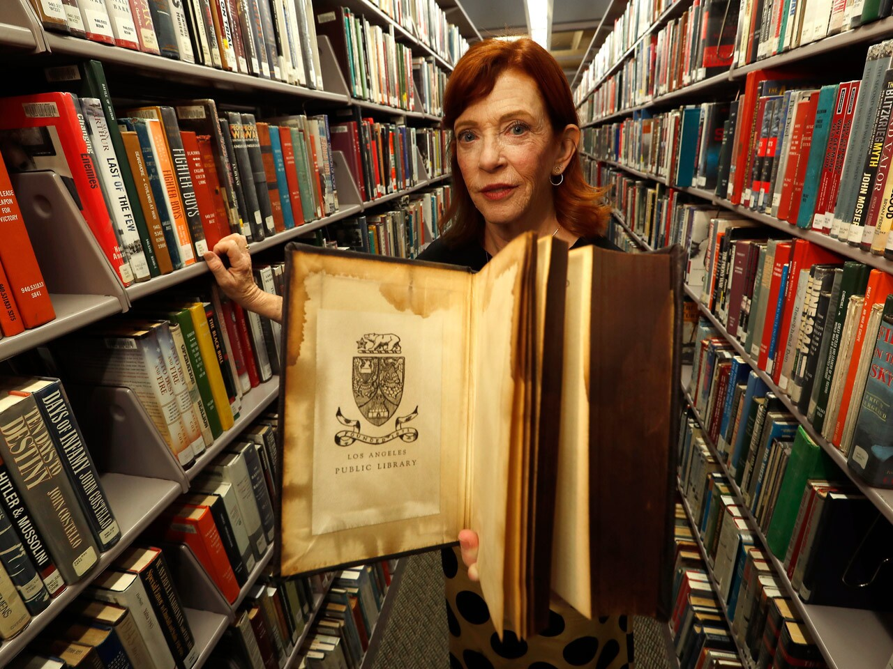 Susan Orlean looks into L.A. Central Library fire