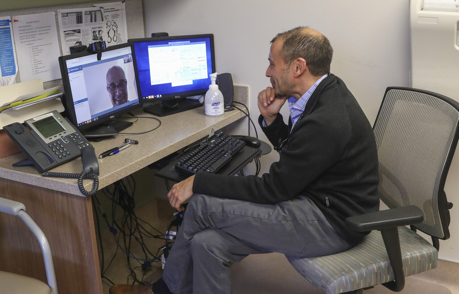 Image result for Op-Ed: As a doctor, I use telemedicine. With the coronavirus threat, it could revolutionize healthcare