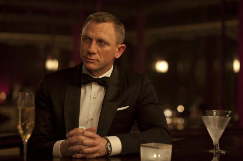 James Bond, a.k.a. 007, played by Daniel Craig. MGM co-produces the James Bond films.