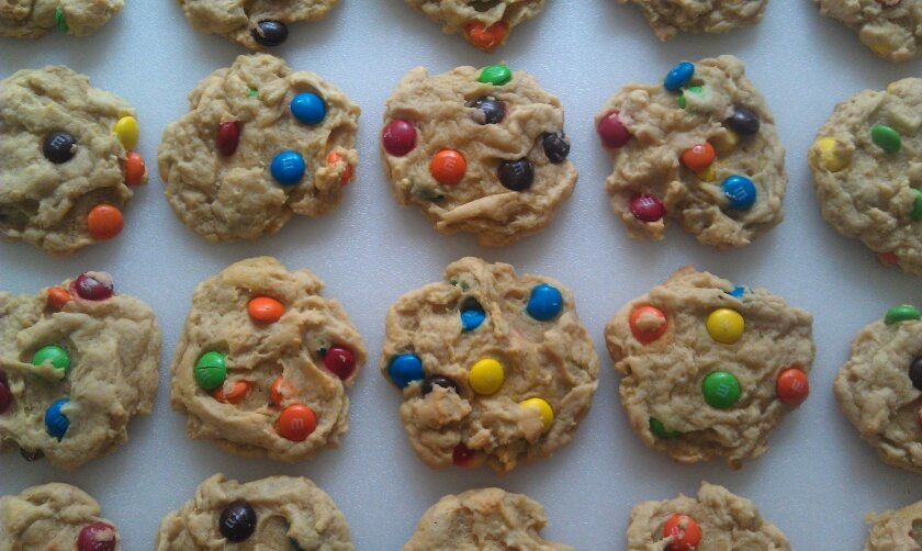 In addition to its signature chocolate chip cookies, the service sometimes offers other flavors, such as M&Ms.