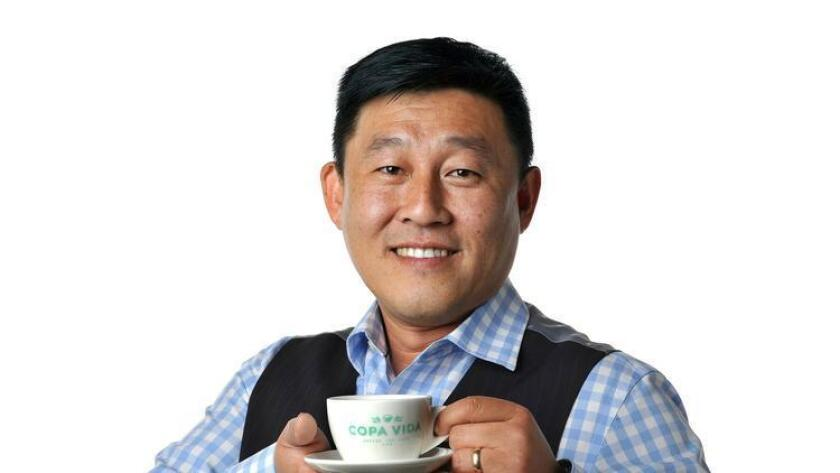 Steve Chang, president and owner of Copa Vida.