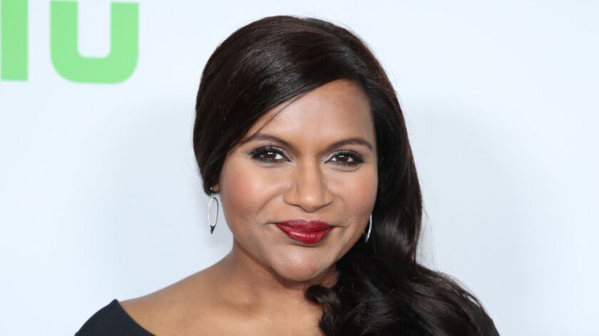 """Mindy Kaling, pictured here at a Hulu function in 2017, nabbed a series order from the streaming service for her TV adaptation of """"Four Weddings and a Funeral."""""""