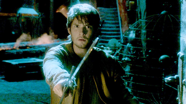 "Ben Barnes is Tom Ward in the fantasy-adventure film ""Seventh Son."""