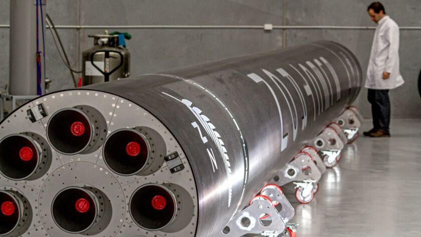 Rocket Lab's custom Electron rocket is designed for launching small satellites into orbit.