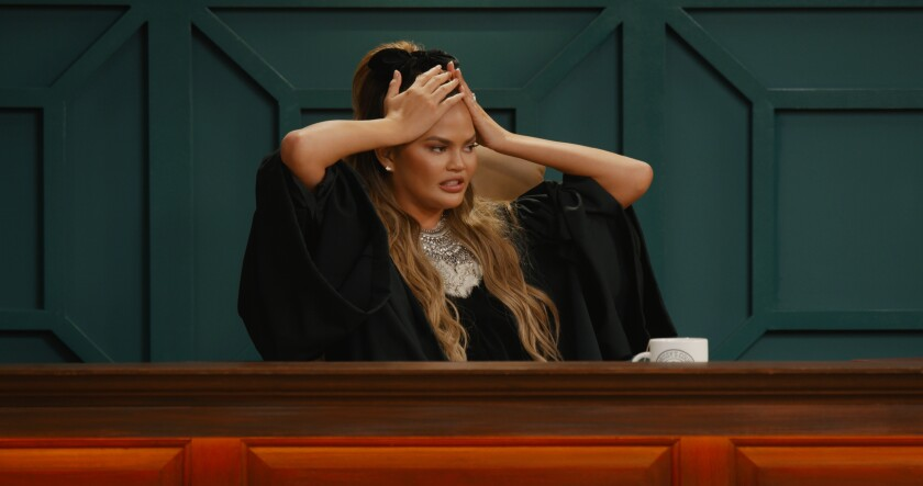 """Quibi shows such as """"Chrissy's Court,"""" starring Chrissy Teigen, will now stream on the Roku Channel."""