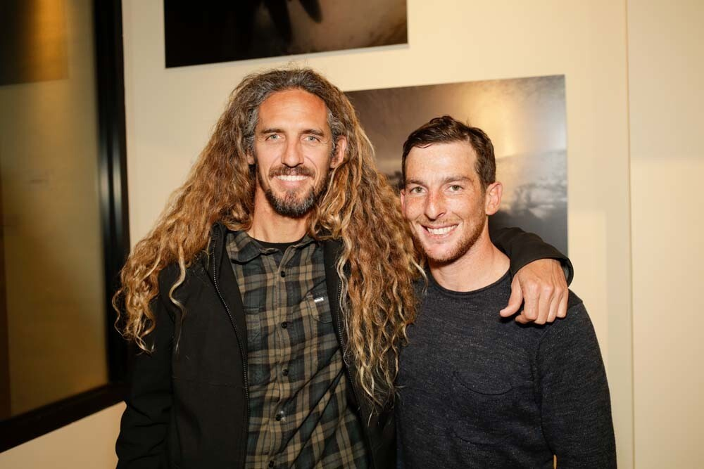 Art and surf lovers attended the Todd Glaser Gallery, a pop-up art gallery from professional surf photographer Todd Glaser at the Pendry San Diego's Lobby Gallery space on Friday, Feb. 1, 2019.