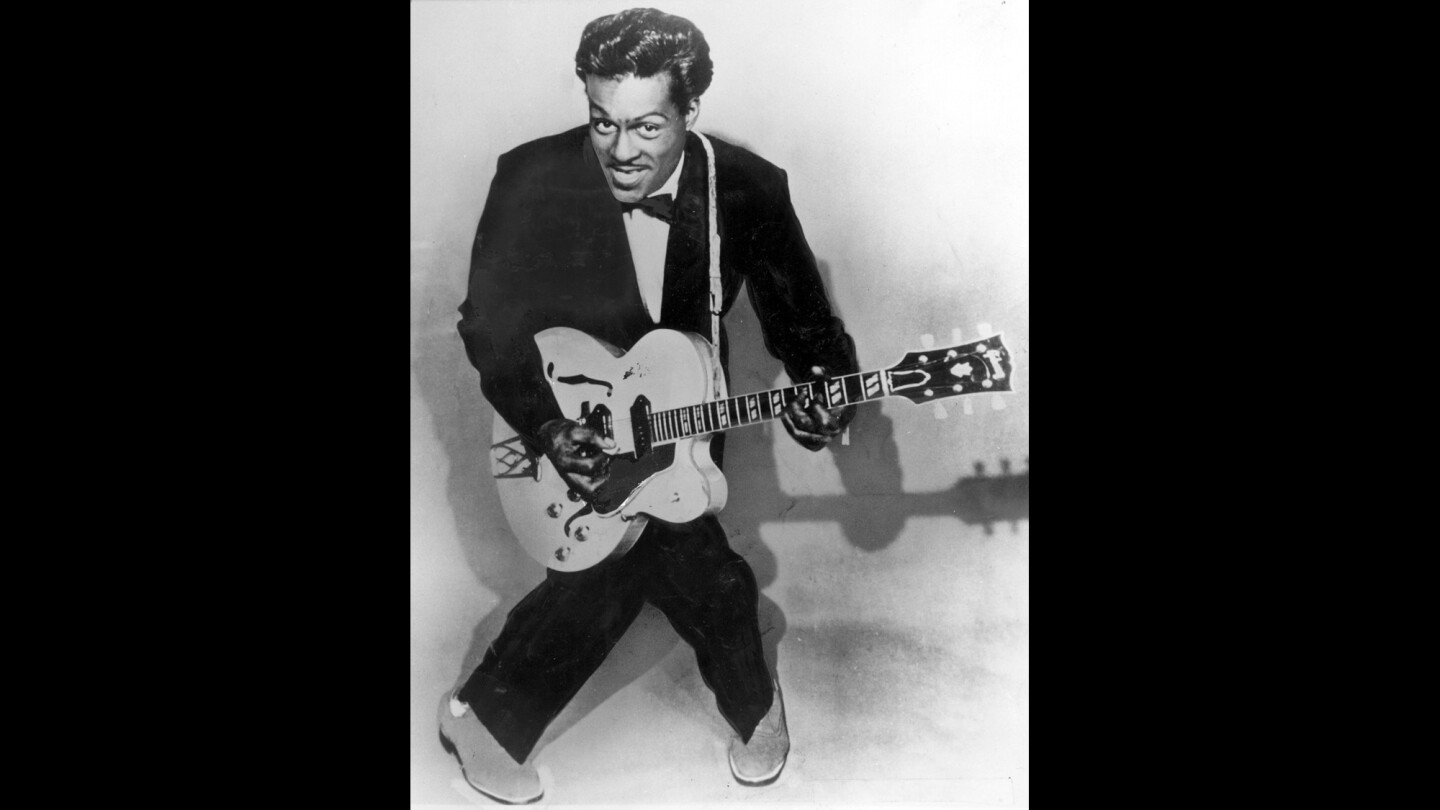 The many moves of rock 'n' roll pioneer Chuck Berry