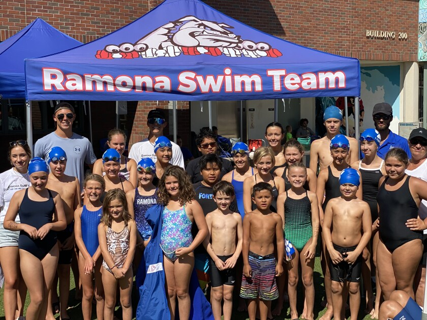 The Ramona Swim Team competed in 119 events at the JO Max Swim meet in Coronado July 30-Aug. 1.