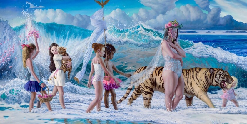 "Artwork from series titled ""Sea of Change"" by Jana Brike."