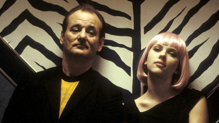 "––Bill Murray and Scarlett Johansson star in Sofia Coppola's ""Lost in Translation."""