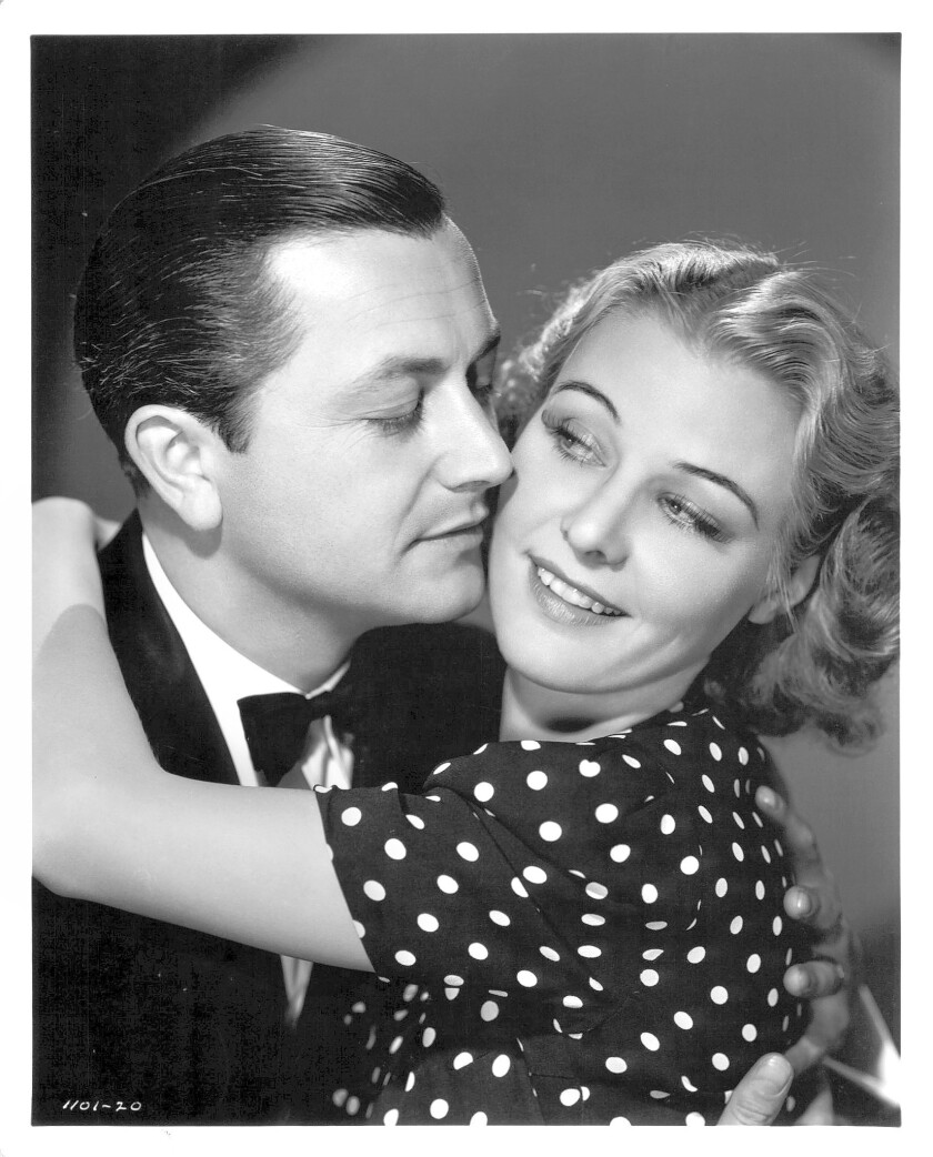 Robert Young and Florence Rice
