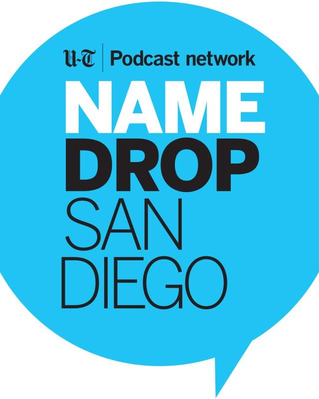 Name Drop San Diego square logo