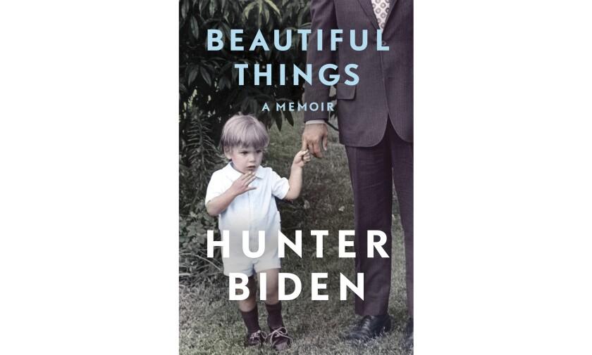 """Cover of Hunter Biden's memoir, """"Beautiful Things"""""""
