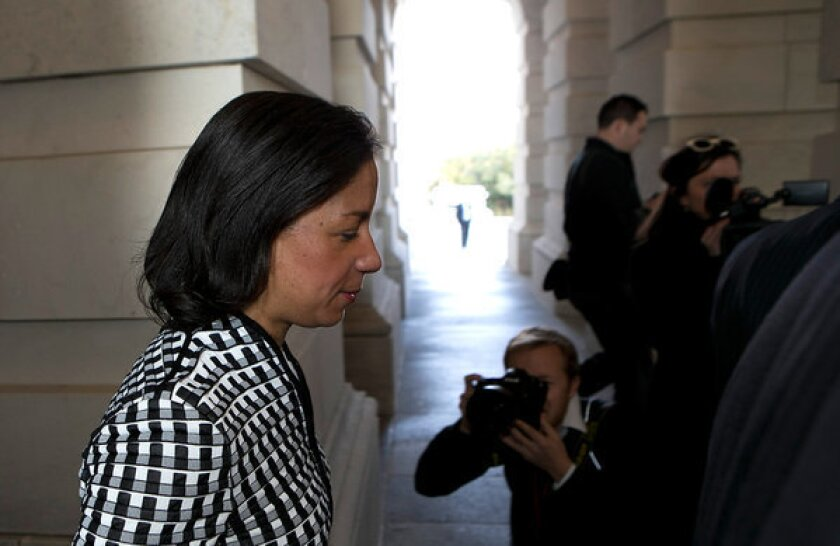 Sens. Corker, Collins join in critiques of Susan Rice