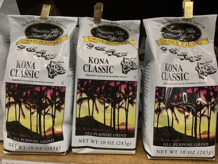 The Kona coffee you buy from Costco and Walmart? It might be fake