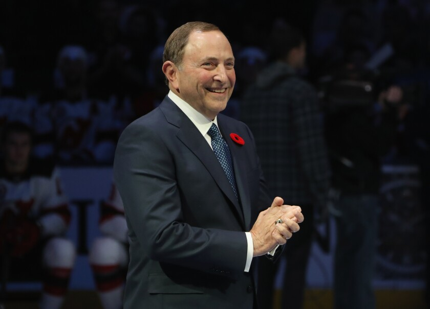 Column: Lost leverage by NHL players' union means it will have to trust Gary Bettman