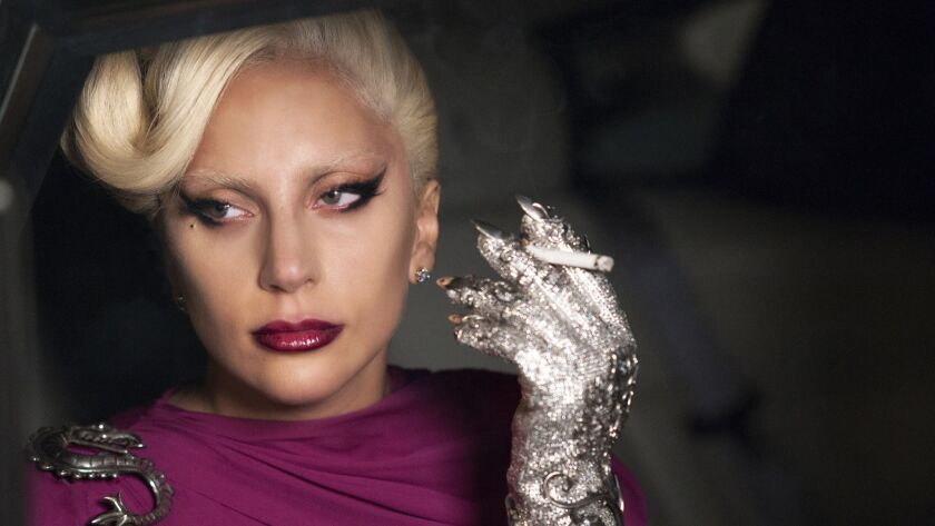 AMERICAN HORROR STORY: HOTEL -- Pictured: Lady Gaga as the Countes. CR: Suzanne Tenner/FX. FOR IMAGE