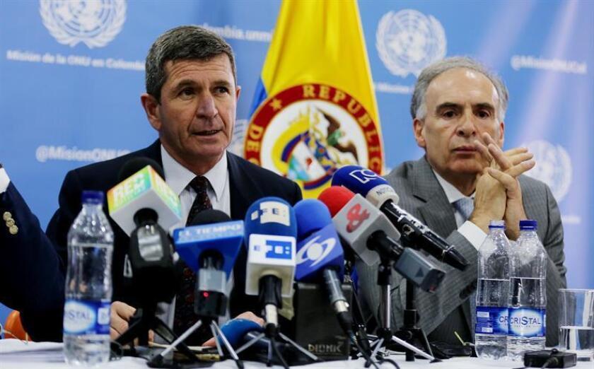 La misión de la ONU en Colombia enviará al Consejo de Seguridad de ese organismo la petición de mantener su labor de verificación del alto el fuego bilateral con las FARC, que puede ser ampliada con nuevos observadores, informaron hoy sus representantes.
