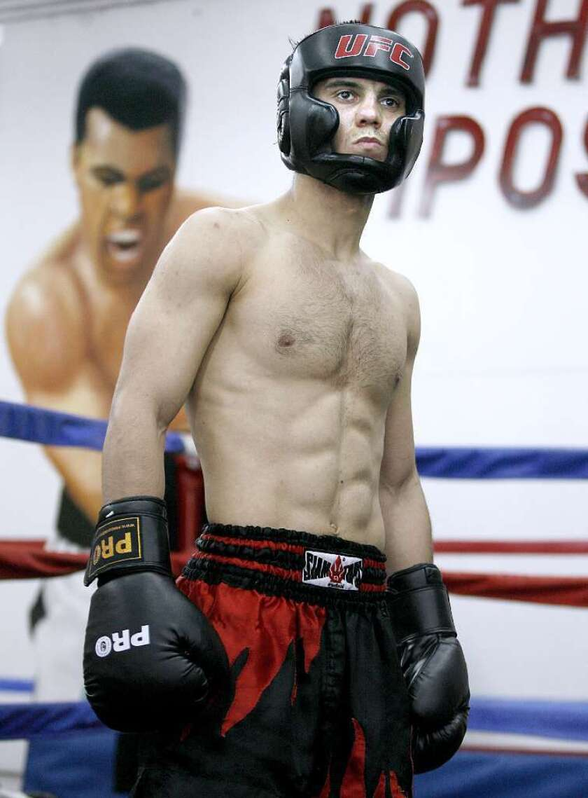 Muay Thai fighter Alfred Khashakyan