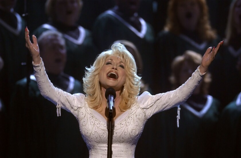 Dolly Parton in 2002