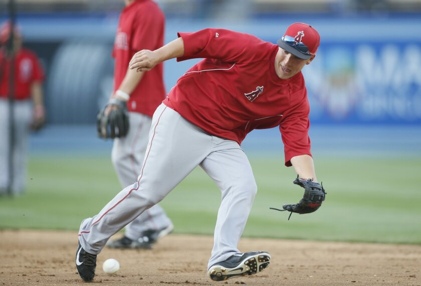 The Padres acquired Taylor Lindsey from the Angels in the six-player deal that sent Huston Street to Los Angeles.