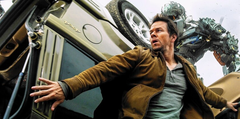 "Mark Wahlberg in ""Transformers: Age of Extinction"""
