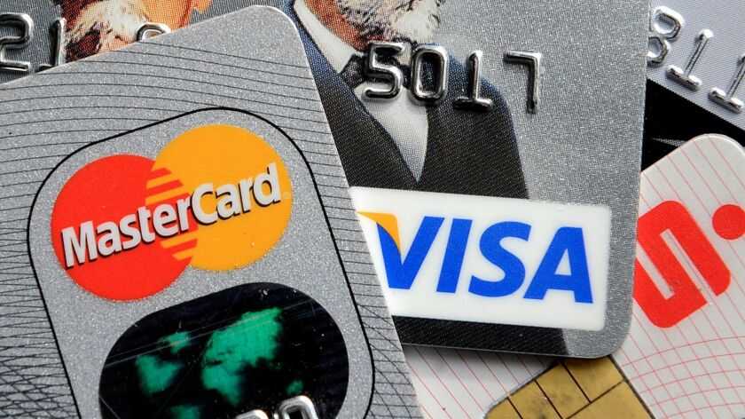 Credit and bank cards on Nov. 18, 2009.