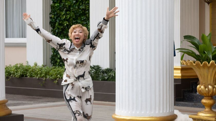 AWKWAFINA as Peik Lin in Warner Bros. Pictures' and SK Global Entertainment's and Starlight Culture'