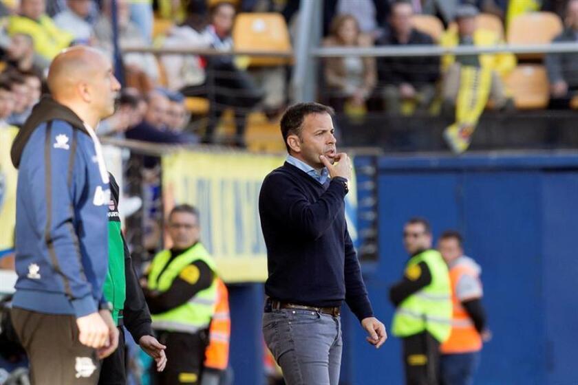 El entrenador del Villarreal CF, Javier Calleja. EFE