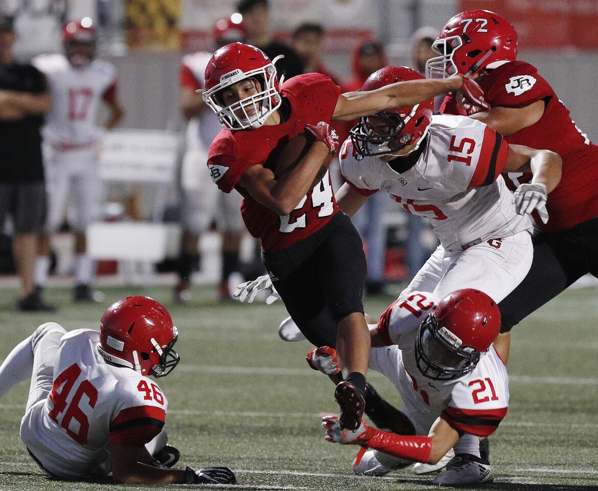 Photo Gallery: Glendale vs. Burroughs in Pacific League football