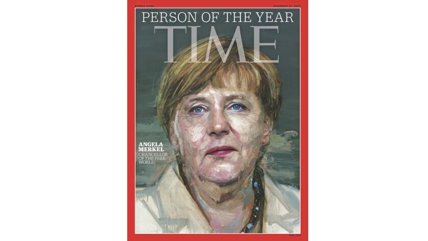 Angela Merkel Person Of The Year