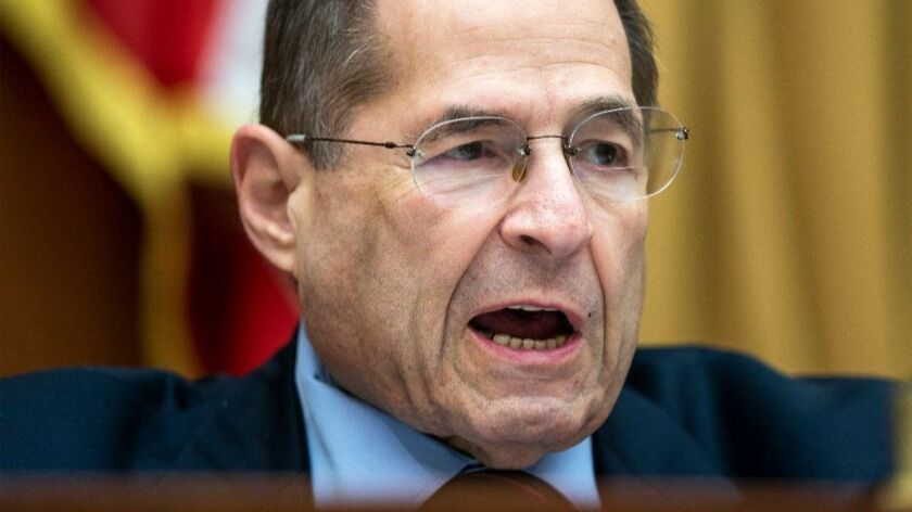 House Judiciary Chair Jerry Nadler to hold more oversight hearings on Trump Administration, Washington, USA - 04 Jun 2019