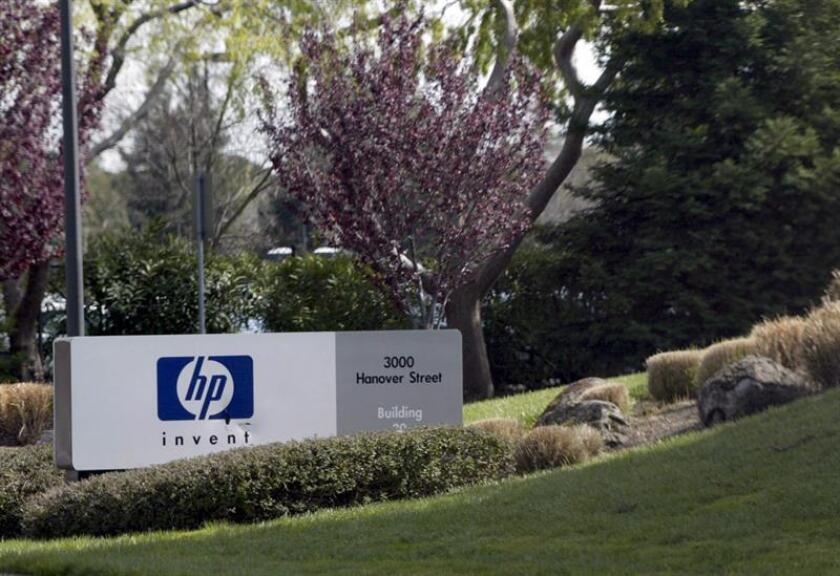 Foto de la sede de Hewlett-Packard en Palo Alto, California (EEUU). EFE/Archivo