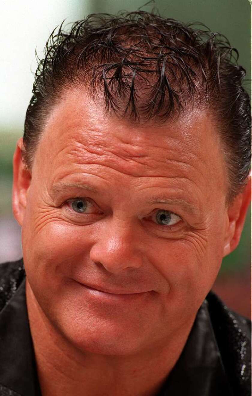 Jerry Lawler (seen here in 2000) says he could revive his old feud with the late Andy Kaufman.