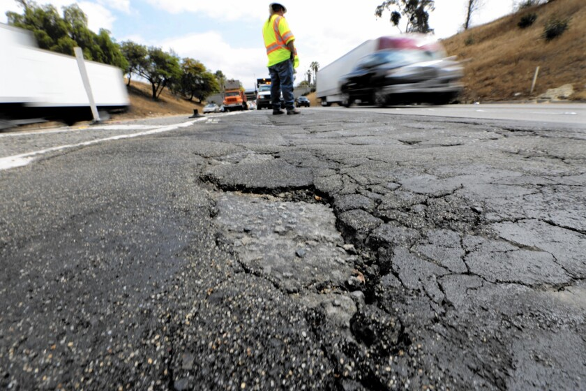 California officials have been putting off dealing with the state's deteriorating road for years. Is that about to change?