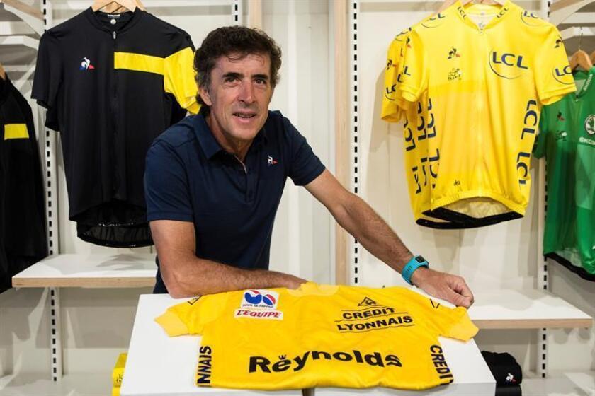 El exciclista español Pedro 'Perico' Delgado. EFE/Archivo