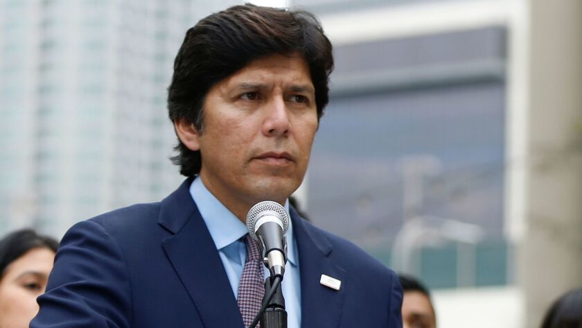 State Senate President Pro Tem Kevin de León plans to introduce legislation that would allow people to make charitable donations to the state instead of paying income taxes.