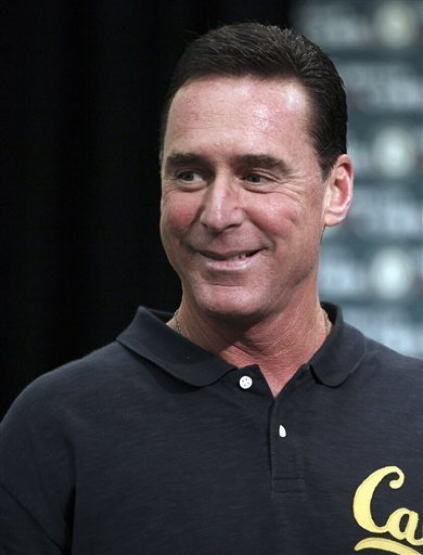 Oakland Athletics manager Bob Melvin appears during a news conference, Thursday, Sept. 29, 2011, in Oakland, Calif. (AP Photo/Ben Margot)