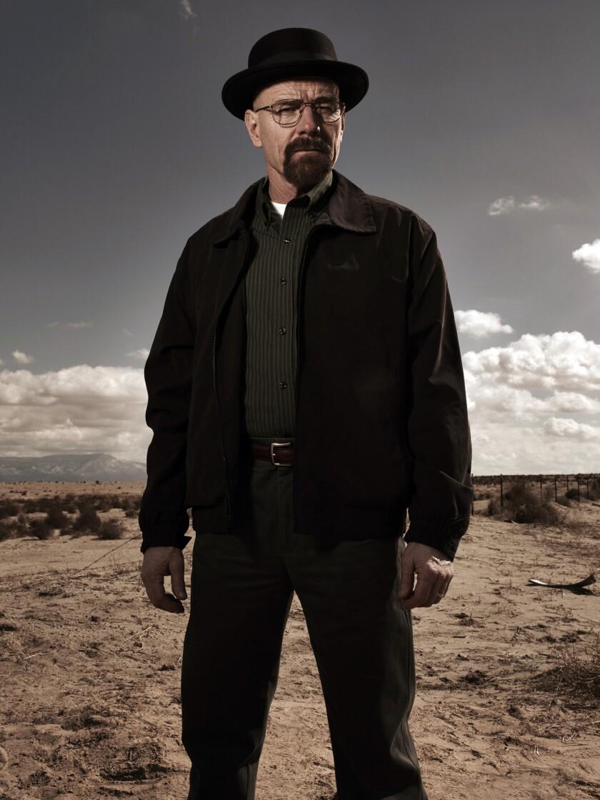 "Bryan Cranston as Walter White, a.k.a. Heisenberg, in ""Breaking Bad."""