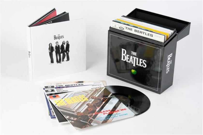 Beatles album catalog will get back to vinyl Nov. 13