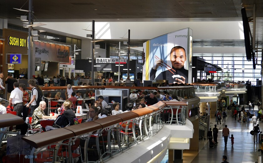 Airport healthy food