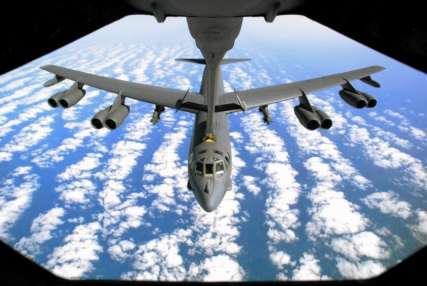 B-52 Stratofortress bombers