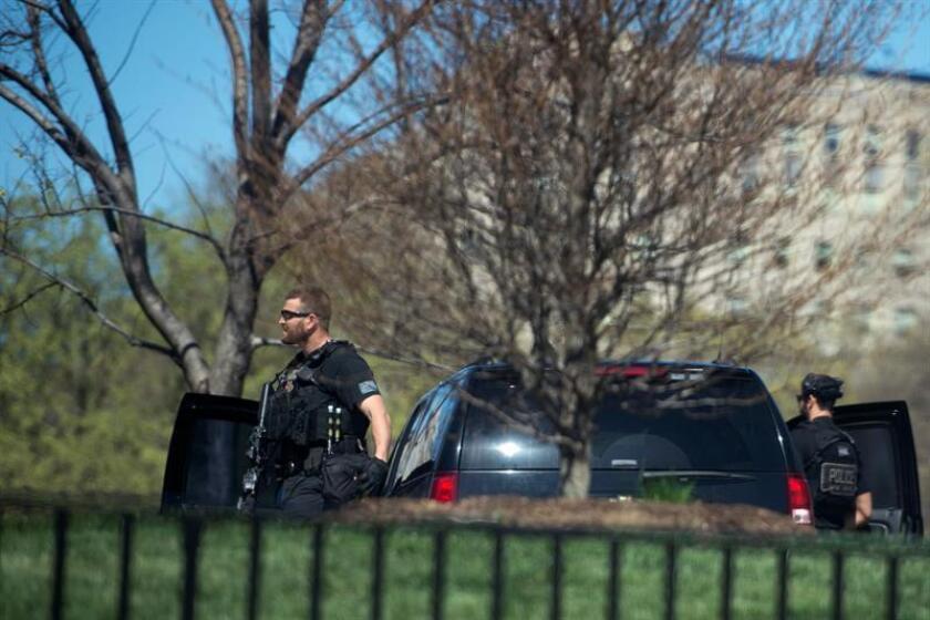 """Una persona fue detenida hoy en relación con una """"actividad sospechosa"""" cerca de la Casa Blanca, informó el Servicio Secreto, encargado de la protección del presidente, Donald Trump. EFE/ARCHIVO"""
