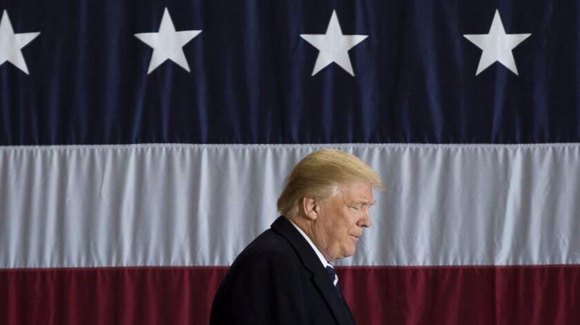 Donald Trump in December 2016.