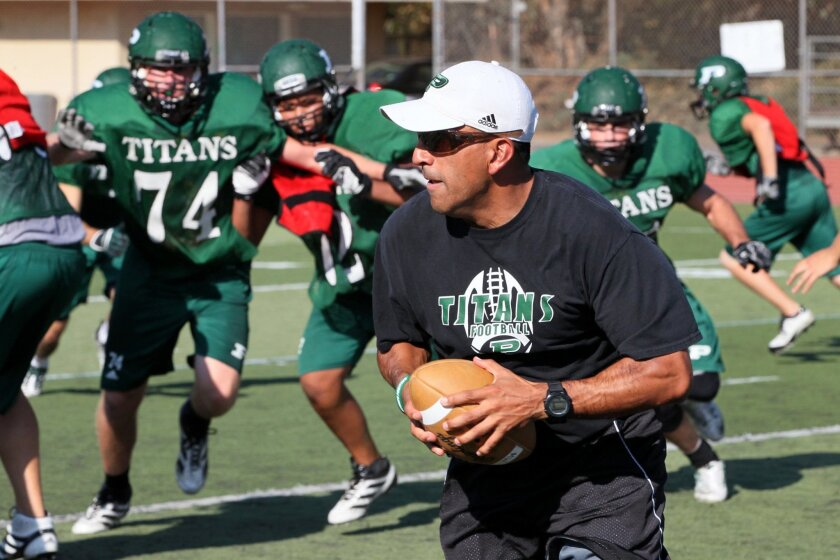 The Poway football squad, coached by Damian Gonzalez, earned state honors with its 3.58 team grade-point average.