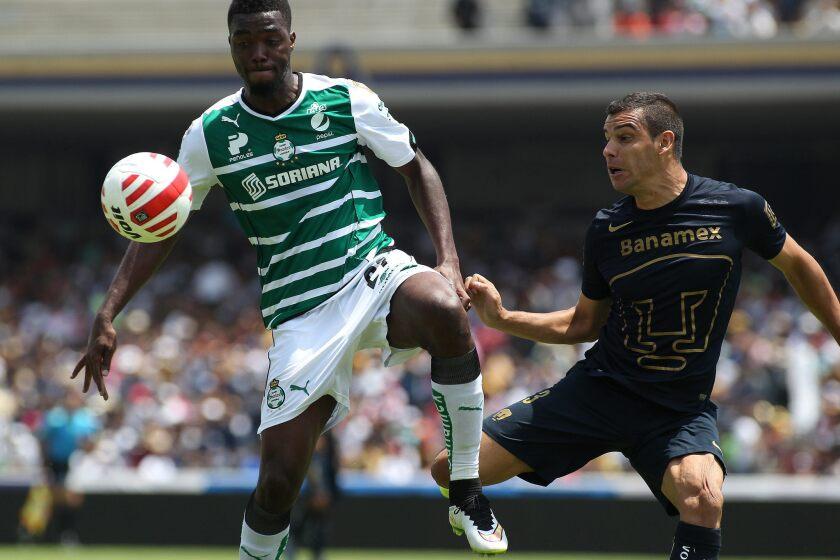 Pumas venció 1-0 a Santos.