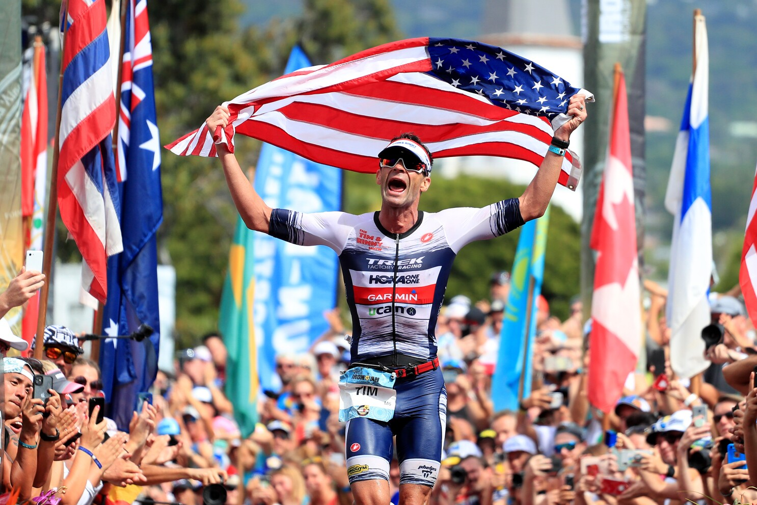 Column: Elephants? Near drowning? Injuries? Ironman Tim O'Donnell guided by iron mind
