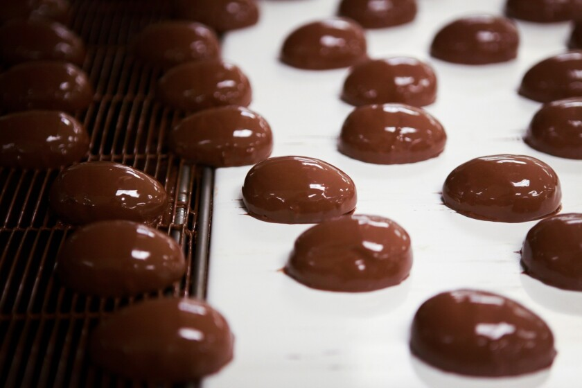 Swiss chocolatier Barry Callebaut has figured out a way for a printer to handle the tempering of chocolate, a normally time-consuming process that requires constant movement at specific temperatures.