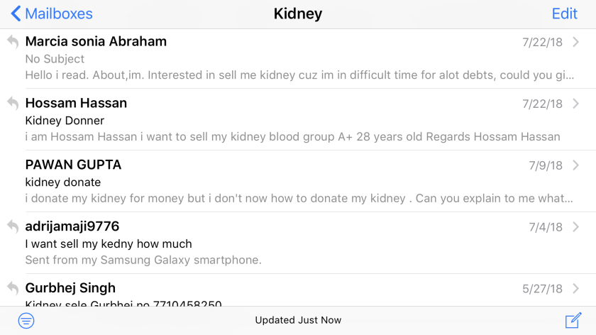 I Reported On The Illicit Trade In Human Organs Now People From