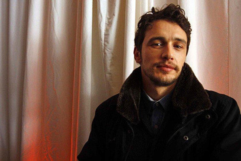 James Franco at the 2010 sundance Film Festival